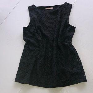 Banana republic lace black camisole